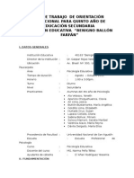 plan de trabajo de orientacion vocacional.doc