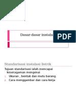 1-1 Dasar-dasar Instalasi Listrik