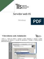 IIS todo Servidor Web IIS