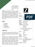 Z (Película) - Wikipedia, La Enciclopedia Libre
