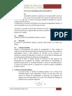 Proyecto Alcantarillado Sanitario II Limpio