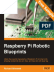 Raspberry Pi Robotic Blueprints - Sample Chapter