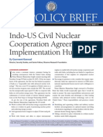 Indo US Civil Nuclear Cooperation Agreement
