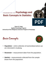 1 Research in Psychology and Basic Concepts in Statistics