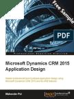 Microsoft Dynamics CRM 2015 Application Design - Sample Chapter