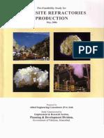 Magnesite Refractories Production