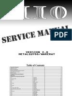 Mio Service Manual