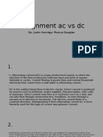assignment ac vs dc power point