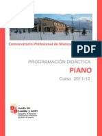 Programacion Piano 201112