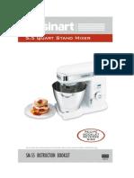 Cuisinart Stand Mixer Manual