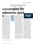 00136-Encourage subversive spirit