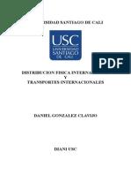 Distribución Fisica y Logística Internacional