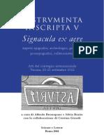 Signacula ex aere dal territorio di Aquileia