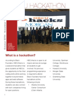 2015 Hackathon Report