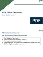 CFA L1 Session 18 Alternate Investments