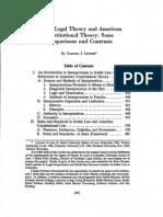 Jewish Legal Theory
