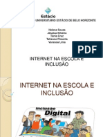 Internet na Escola e Inclusao