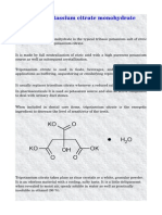 Info of potassium citrate monohydrate.pdf