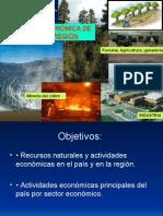 Geografía Económica de CHILE y La Región