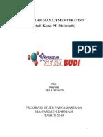 Makalah Manajemen Strategi (Studi Kasus PT. Biofarindo)