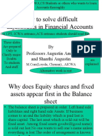 22 How to Solve Difficult Adjustments and Journal Entries in Financial Accounts