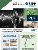 Efectividad de La Prensa Frente a La Radio