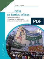 Manzano, L. (Violencia en Barrios Criticos)