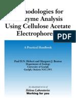 Methodologies for Allozyem Analysis Using Cellulose AcetateElectrophoresis