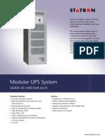 Modulare USV S6300 E