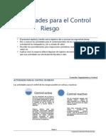 1. Controles, Seguimiento y Control