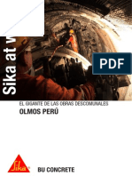 Sika at Work Proyecto Olmos