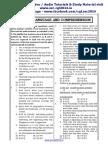 Ssc Tier II English Paper 1