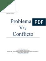 Problema v/s Conflicto