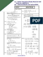 Ssc Tier II Maths Solution Paper 2