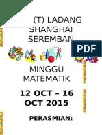 Buku Program Minggu Matematik