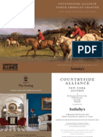 Countryside Alliance New York Auction 2015