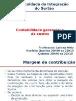 AULA 07_Contabilidade Gerencial_Margem de Contribuição