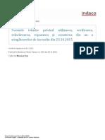 STINGATOARE Normele Tehnice Din 23-10-2015