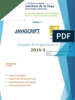 Semana 3 - Javascript
