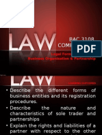 Lecture 1 Business Organisation