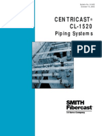 Smith Fibercast CENTRICAST CL-1520 Piping