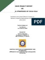 Marketing Strategy of Coca Cola