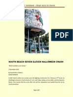 South Beach Seven Eleven Halloween Crash
