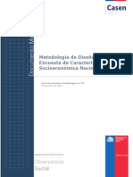 Metodologia Diseno Muestral Casen 2013