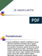Syok Anafilatik