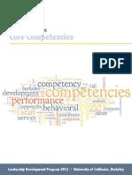 Core Competencies 2012