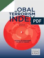 Global Terrorism Index Report 2014