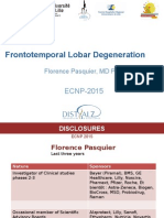 Fronto-temporal Lobar Degeneration