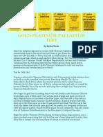 Gold Platinum Palladium Test