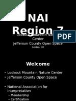 nai region 7 exhibit discussion